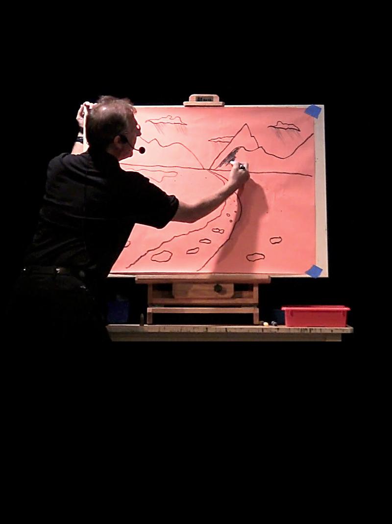 Eddie Goldstein | Art Station Titan | Science meets art